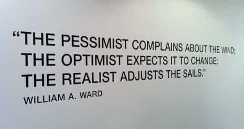Prețul pesimismului