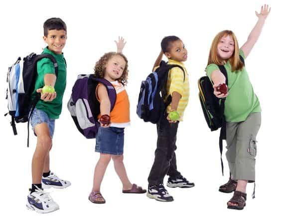 Ghiozdanele copiilor noștri – Viața Medicală